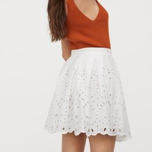 H&M | NWT eyelet skirt